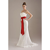Knee-length Wedding / Bridal Ribbon Sash