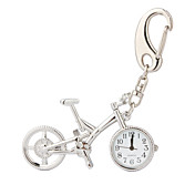 Bicycle Bike Mascot Hanging Decoration Key Chain Clock Watch(CEG380)