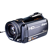 pi alta risoluzione 1080p camcorder HDV-320 10.0MP CMOS 20.0MP rafforzata con 3.0inch display LCD 120x zoom (dce303)