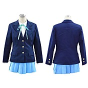 k-on costume cosplay scuola uniforme