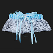Lace With Beading Wedding Garters
