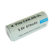 Replacement Digital Camera Battery NB-9L for Canon IXUS 1000HS (3.5V 870mAh)
