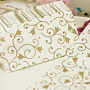 Filigree Gold Guest Towels(Set of 12 Packs)
