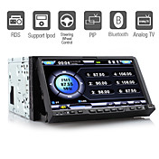 7 Inch 2 Din Car DVD Player Support IPOD PIP Detachable Panel