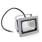 wasserdichte 10w 900-1000lm 3000-3500K warmes weies Licht gefhrt Flutlampe (85-265V)