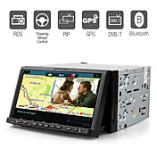 DVD Player Automotivo 7 polegadas GPS Bluetooth RDS DVB-T