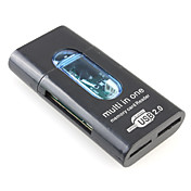 All-in-1 Mini USB SD/MMC Card Reader(Random Color)