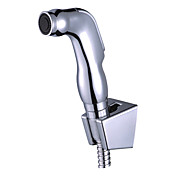 Hand Held Bidet Spray Silver Without Supply Hose And Shower Holder