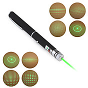 Grüner 5-in-1 5mw 532nm Astronomie  Laser Pointer (2xAAA)
