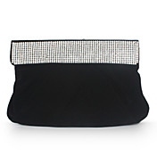Velvet With Rhinestone Evening Handbags/ Clutches