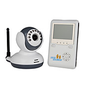 Wireless Digital Baby Monitor Kit + 2 Way Talk + WiFi Free (2.4GHz)