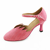 Velvet Upper Dance Shoes Ballroom Latin/ Modern Shoes for Women More Colors
