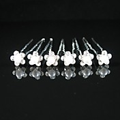 Gorgeous Crystals Wedding Bridal Pins/ Flowers,6 Pieces Per Lot