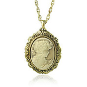 Elegant Queen Portrait Sweater Chain