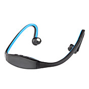 Neckband Stereo Wireless Bluetooth Headset Headphone for Mobile Phone(blue)