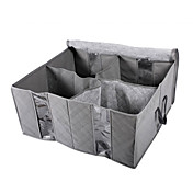 130L Bamboo Charcoal Non-Woven Fabric Clothing Storage Bag/Organizer Bag