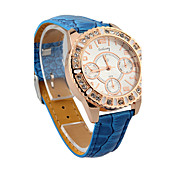 Lovely Round Quartz Movement Watch More Colors Available