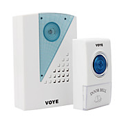 Long Distance Remote Control Wireless Doorbell with LED 38 Melodies