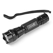 UltraFire WF-501B Waterproof 5-Mode Cree XM-L T6 LED Flashlight (1000 LM, 1x18650, Black)