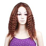 "100% Indian Remy Hair Two Tones Color Little Curly 18"" Full Lace Wig"