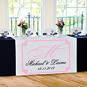 Personalize Reception Desk Table Runner - Flourish