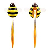 jaune porte brosse à dents abeille conception