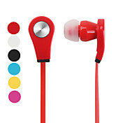 Flat Cable Style Stereo In-Ear Earphones (Assorted Colors)