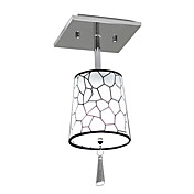 elegant semi flush mount med 1 lys