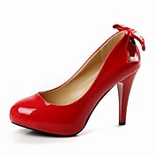 Patent Leather Stiletto Pumps With Bow For Party/Evening/Office (More Colors)