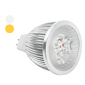 MR16 6W 480-540LM Warm/Cold White Light LED Spot Bulb (12V)