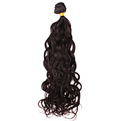 100% Indian Virgin Remy Hair 22 Inch Machine Made Natural Curl Hair Weave