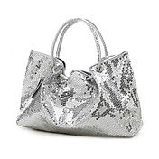 kvinder dobbeltsidet sequined tote / taske