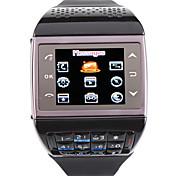 et3 - dual sim 1,33 tommers watch mobiltelefon (FM bluetooth mp3 / mp4)