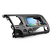 7 tommers bil dvd spiller for Honda Civic 2006-2011 (gps, bluetooth, tv, RDS)