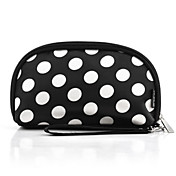 Trendy Woman's Nylon Cosmetic Bag With Dot