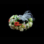 Flower Design Wedding Flower Girl Wreath