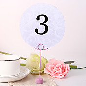 Round Table Number Card - Sweet Day