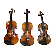 Solid Flame Maple Archaize Violin (Multi-Size)