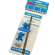 GWS Mini Retract Gear Extra Light XL Pair(GW-RG-MM-XL)