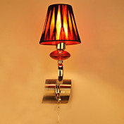 1 - Light Stylish Wall Light in Red Accent