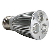 E27 9W 580-600lm 6000K naturlig hvitt lys LED-spot pre (220V)