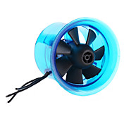 EDF Plus 8 Blades HL3008 1815-13000KV Brushless Motor with Fan for RC Helicopter