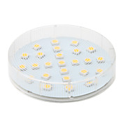 gx5.3 4w 25x5050 SMD 260lm 2800-3200K warm wit licht led spot lamp (220-240v)