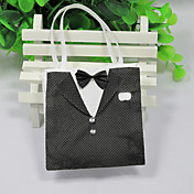 Tuxedo Favor Bag (Set of 12)