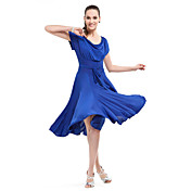 ballroom dancewear viskose moderne dans dresse for damer flere farger