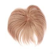100% dei capelli indiani remy 3,5 per toupee 2,5 pollici uomini bambini con i colori della pelle pizzo chiusura pi disponibili