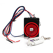 Vibration Activated 110dB Security Alarm with Remote Control Keychain for Motorcycle