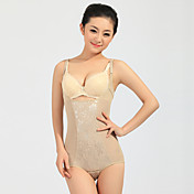 Seamless Open Bust Shaping Bodysuit With Adjustable Straps (More Colors)