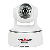 wansview - h.264 plug and play pan tilt cmera IP sem fio com Armazenamento em carto SD