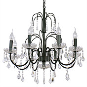 Crystal Ceiling Light with 8 Lights